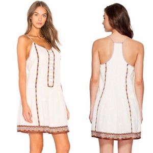 JOIE HORLANE EMBROIDERED DRESS SZ S